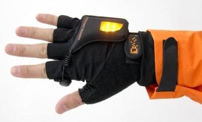 魔术贴在手套上的应用