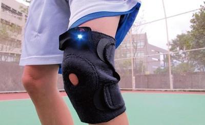 魔术贴在护膝垫上面的应用